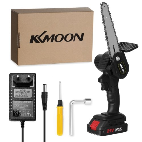 KKmoon 6 Inch Portable Electric Infinitely Variable Speeds Pruning Saws 21V