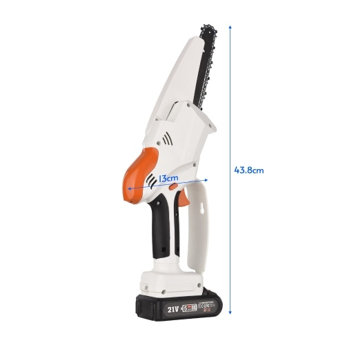 Cordless Chainsaw 6 Inch for Gardening Pruning Trimming Portable for Men Women
