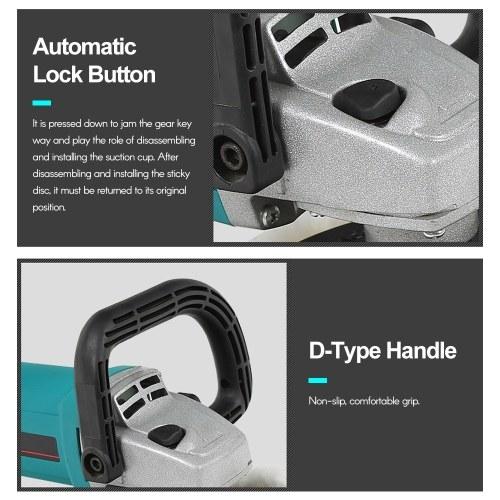 Electric Buffer Polisher 7 Inch for Polishing Sanding Waxing 3600RPM D-Type Handles for Car Polishing and Home Appliance EU