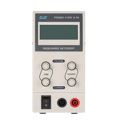 0-30V 0-3A 3 cifre variabile alimentazione elettrica di commutazione regolabile Tensione di uscita Display LCD di corrente DC regolata Digitahi US Plug
