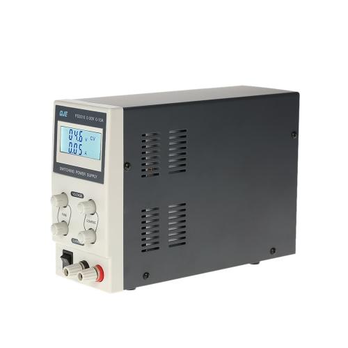 0-30V 0-10A 3 cifre variabile alimentazione elettrica di commutazione regolabile Tensione di uscita Display LCD di corrente DC regolata Digitahi US Plug