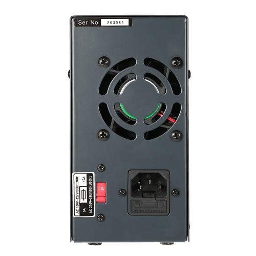 0-60V 0-5A 3 Digits Variable numérique Réglementé DC Alimentation à découpage Tension de sortie réglable LCD Courant d'affichage UE Plug