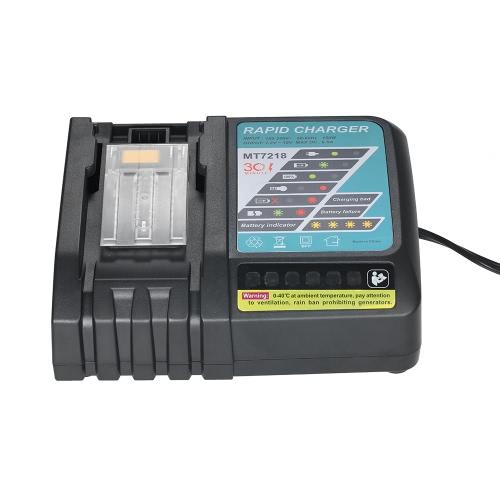 6,5A szybka wymiana ładowarki dla Makita DC18RC DC18RA BL1830 BL1815 BL1840 BL1850 14.4V-18V akumulator litowo-jonowy
