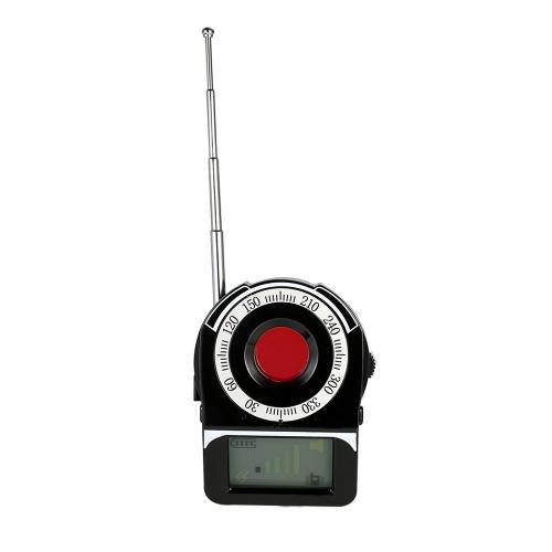 Многофункциональный полнодиапазонный радиочастотный радиосигнал Радиодетектор Камера Автоматическое обнаружение Tracer Finder 1MHz-6.5GHz Диапазон Регулируемая чувствительность