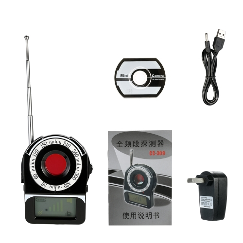Multi-functional Full-range RF Wireless Signal Radio Detector Camera Auto-detection Tracer Finder