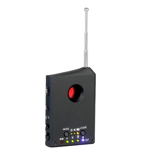 Detector de radio de señal inalámbrica RF de rango completo multifuncional Detector de seguimiento de detección automática de 1MHz-6.5GHz Sensibilidad ajustable