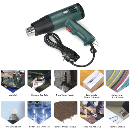 High Quality LCD Digital Temperature-controlled Electric Hot Air Gun