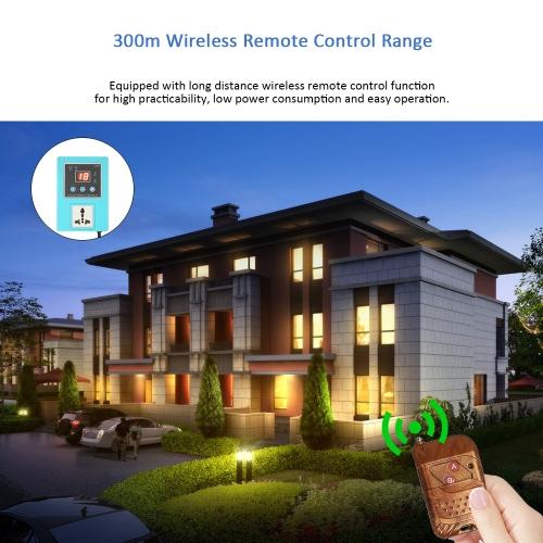 Digital Power Wireless Timer Switch Controller
