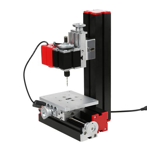 Mini fai-da-te 6 in 1 Multi-funzionale macchina motorizzata trasformatore Jigsaw Grinder Driller tornio hardware di plastica