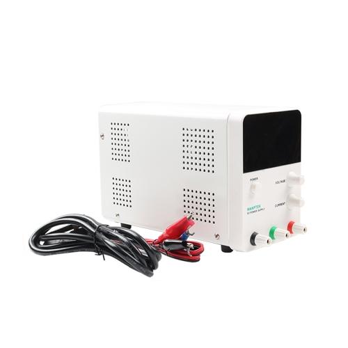 wanptek電圧レギュレータスイッチング4桁青色LEDディスプレイスイッチ実験用DC電源0-60V 0-5AミニDC電源高精度可変AC 115V / 230V 50 / 60Hz