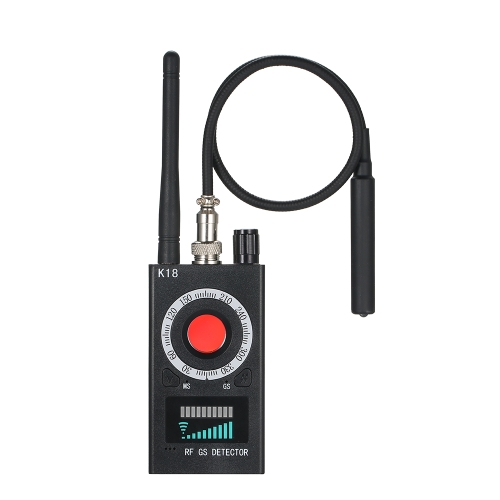 Anti-szpiegowska czujka K18 Kamera GSM Audio Bug Finder GPS Signal Lens RF Tracker