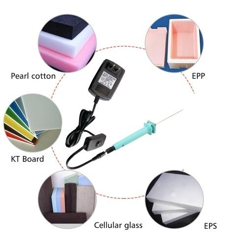 10cm Styrofoam Cutter Craft Hot Wax Cut Pen Pearl Wool KT Board Cutting Machine