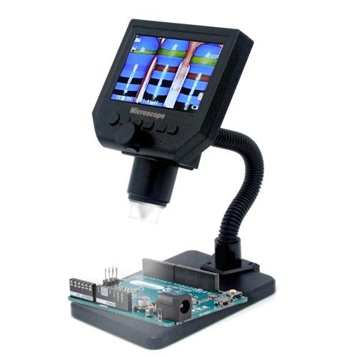 Microscopio digitale LCD portatile G600