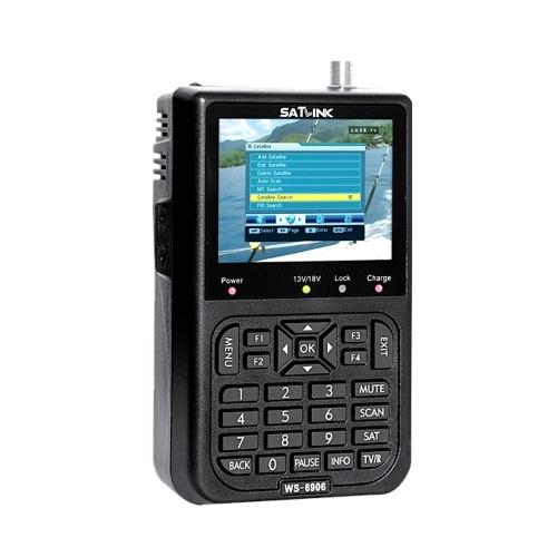 SATLINK WS6908デジタル衛星信号ファインダー