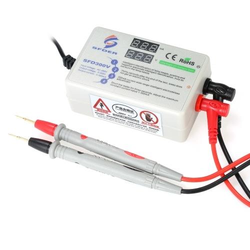 Verificador atual da tela do verificador do luminoso do diodo emissor de luz do teste da tensão