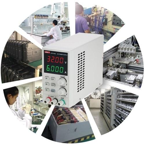 UNI-T UTP1306S Switching DC Adjustable Mini Power Supply 4 Digits Display E4742EU