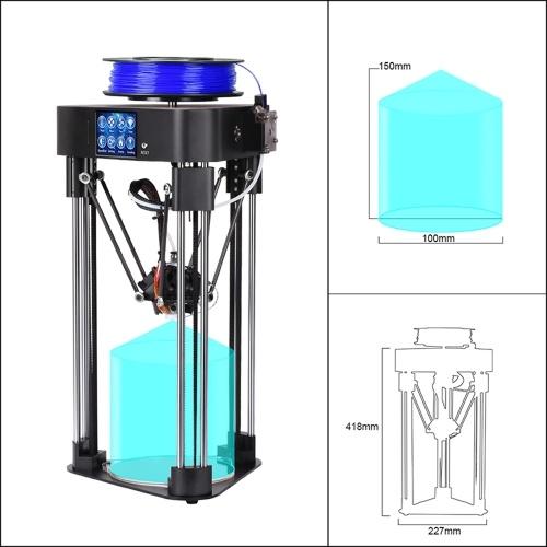 High Precision Touch Screen 3D Printer Home Mini Desktop 3D Printer