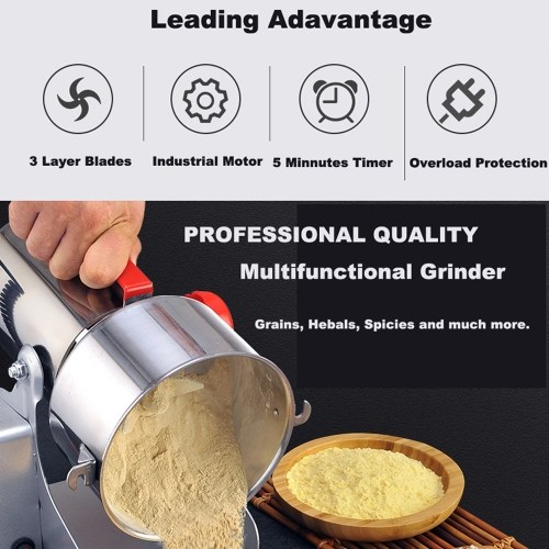 Electric Grain Spices Cereals Coffee Dry Food Mill Grinding Machines