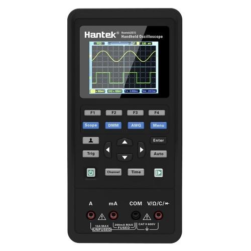 Hantek 2D72 3 in 1ハンドヘルドデジタルオシロスコープ+波形発生器+マルチメーター