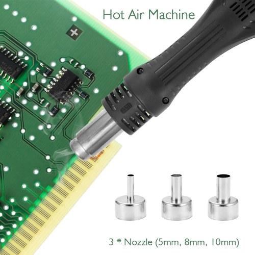 2 in 1 Hot Air Machine Soldering Iron Rework Soldering Station
