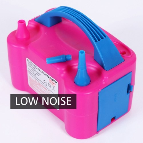 220V-240V Electric High Power Two Nozzle Air Blower Balloon Inflator Pump Fast Portable Inflatable Tool