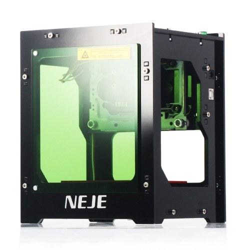 NEJE DK-8-KZ 3000 МВт Лазерный Гравер 445 нм Smart AI Мини-Гравировальный Станок Поддерживает Автономный Режим DIY Машина для Резки Печати для Windows