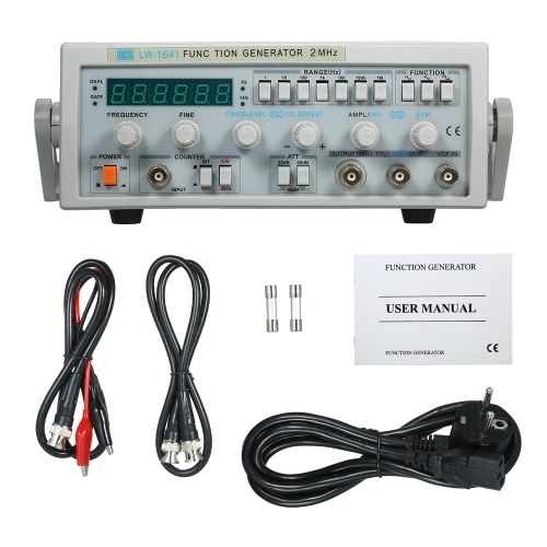 LW-1641波デジタル機能信号発生器0.1Hz-2MHz周波数AC 220V