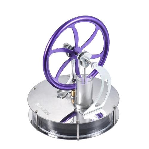 KKmoon Low Temperature Stirling Engine Motor Model Heat Steam Education Toy DIY Kit