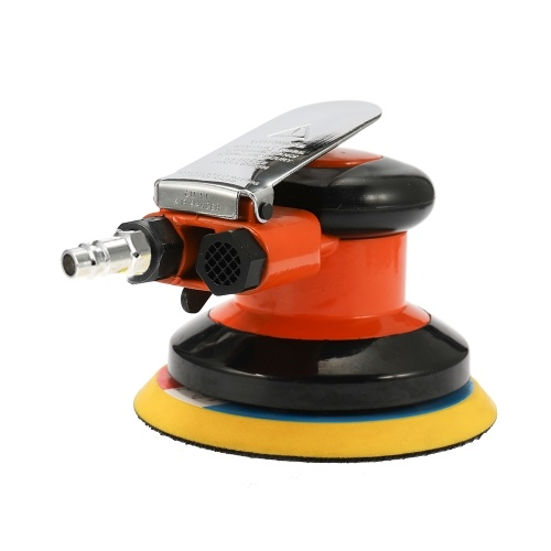 5 Inches 10000RPM Pneumatic Air Sander Car Paint Care Tool Polishing Machine Pneumatic Power Woodworking Grinder Polisher