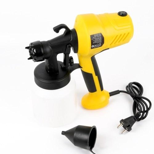 Spruzzatore elettrico ad alta pressione smontabile della pittura a macchina per la verniciatura della mobilia di legno dell'automobile con la tazza dello spruzzatore