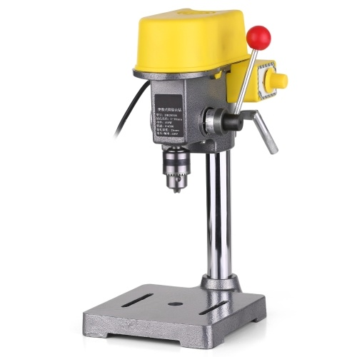 AC 220V 450W Adjustment Drill Press Bench Drill Stand Table Clamp Mini Drilling Machine for CNC Power Tools
