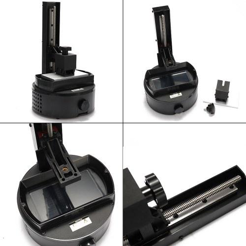 Стереолитография Технический класс ЖК-дисплей Высокая точность Фоточувствительная смола SLA Домашние украшения Модель Комплекты 3D-принтер