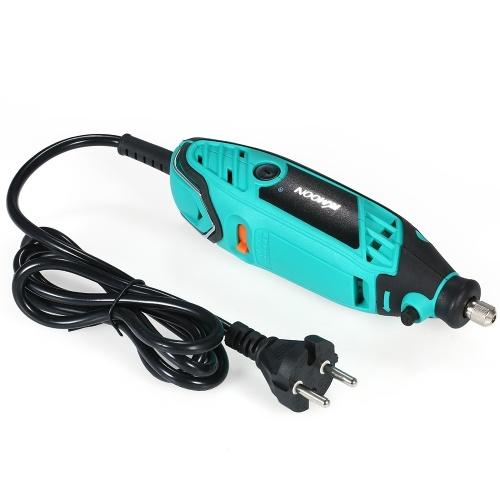 KKmoon 195ピース電動工具電動ミニドリルロータリーグラインダー研磨工具セットで6位置可変速度用ロータリーツール