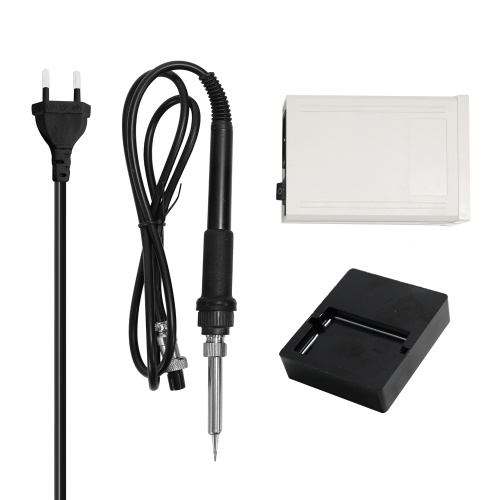 T-19D Mini Portable Digital Constant Temperature Soldering Station Electric Soldering Iron Set with Temperature Display