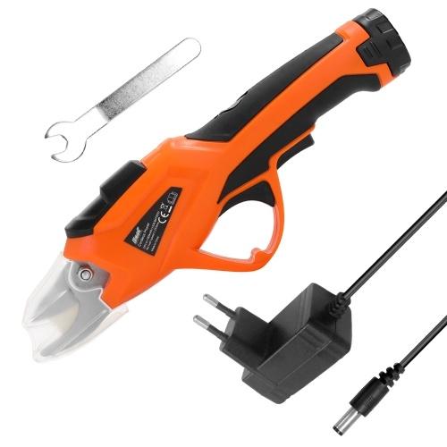 3.6V électrique cisaillement élagage ciseaux de jardin à la maison rechargeable sans fil sécateur fruitier branches coupeur