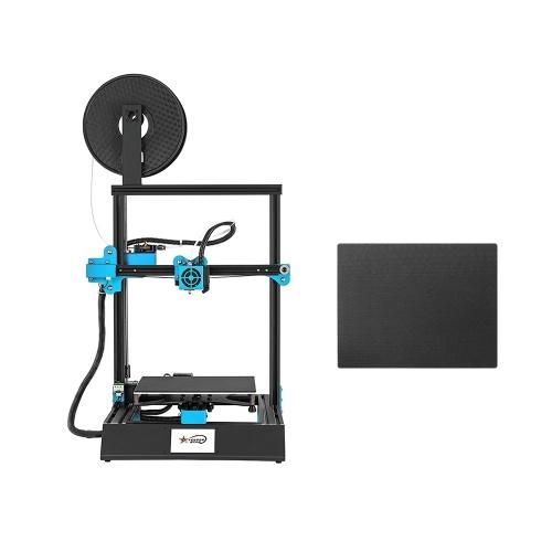 M08 Stampante 3D ad alta precisione Touchscreen da 3,8 pollici Self-assembly DIY 220 * 220 * 270mm Max. Dimensioni di stampa con funzione di stampa Riprendi per casa e scuola Fai da te