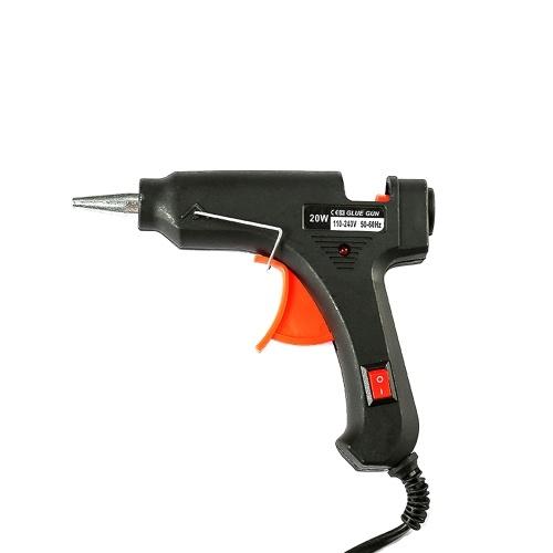 20 W 100 V-240 V Alta Temperatura Hot Melt Glue Guns Temperatura Automática de Aquecimento de Energia Rápida Ferramenta de Calor para Artesanato DIY / Projetos / Fast Home Reparos / Artes Criativas