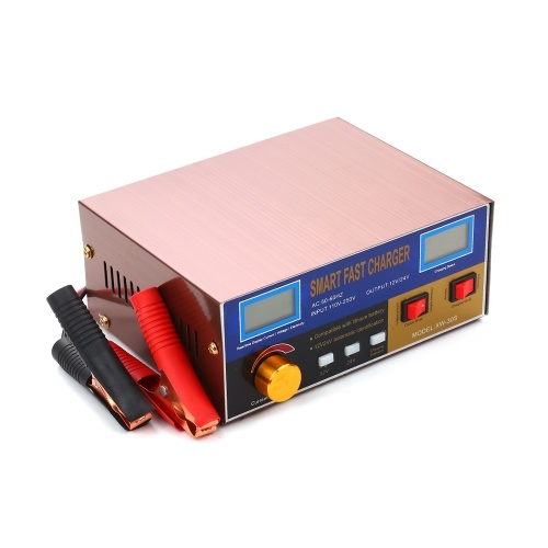 12V/24V 15A/18A 6-400AH Multifunctional Smart Pulse Repair Battery Charger and Maintainer for Lithium/Lead-Acid Battery фото