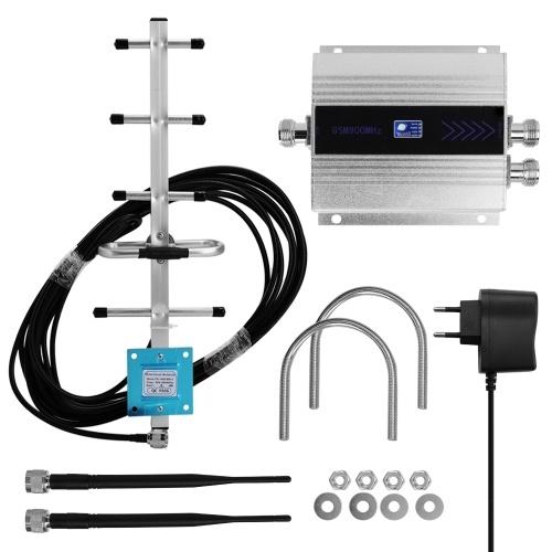 ЖК GSM900MHz двухсторонний усилитель сигнала мобильного телефона Усилитель сигнала ретранслятора сигнала сотового телефона с антенной Yagi фото