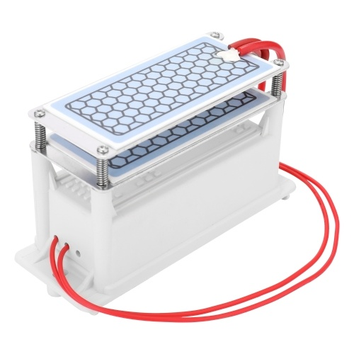 Portable 10g/h Ceramic Ozone Generator Double Integrated Plate Ozonizer Water Air Purifier