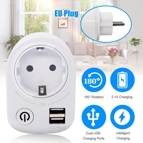 Intelligent USB Countdown Socket Switch Socket Plug Phone Charger