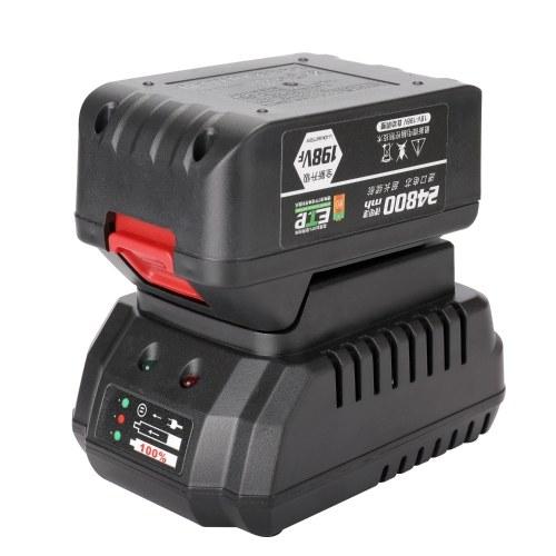 198VF 24800mAh Аккумуляторный электрический ключ 380Nm 3/8 дюйма Драйвер 2-в-1 Литиевый аккумуляторный ключ Безщеточный ударный гайковерт Аккумуляторные ключи с высоким крутящим моментом фото