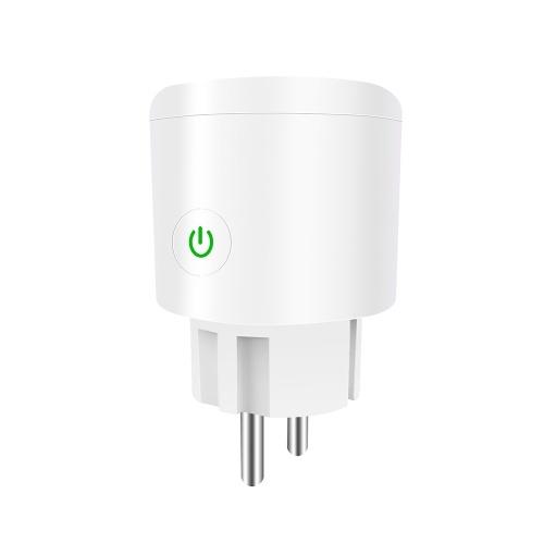 Mini WiFi Smart Socket EU Plug Outlet Timing ON/OFF Energy Monitoring