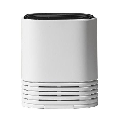ポータブル空気清浄機PM2.5ホルムアルデヒド除去ネックレスミニ芳香剤ウェアラブルエアクリーナーUSB充電式家庭用負イオン発生器大人用キッズホワイト