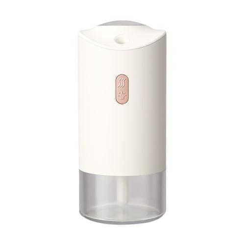 カラーランプ付きプロジェクション加湿器ナイトライトホワイト付きUSB充電式車両加湿器