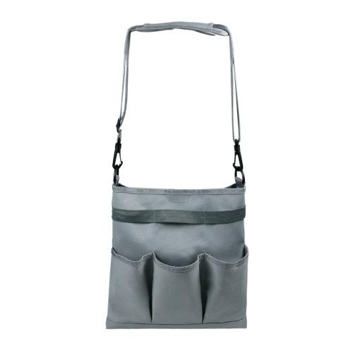 Садовая сумка для инструментов Садовая сумка для хранения с 3 внешними карманами Внутренний карман большой емкости Садовый набор инструментов Держатель Сумка