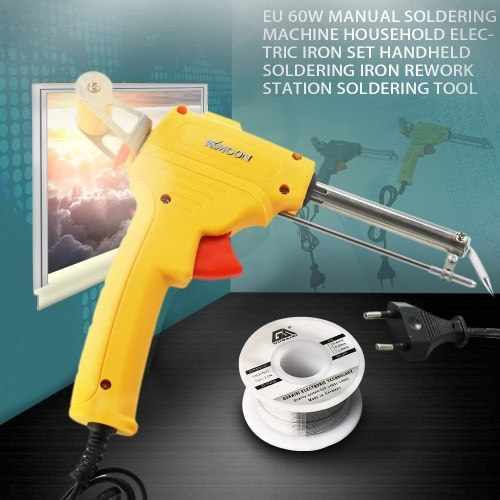 KKMOON EU 60W Manual Soldering Iron Rework Station