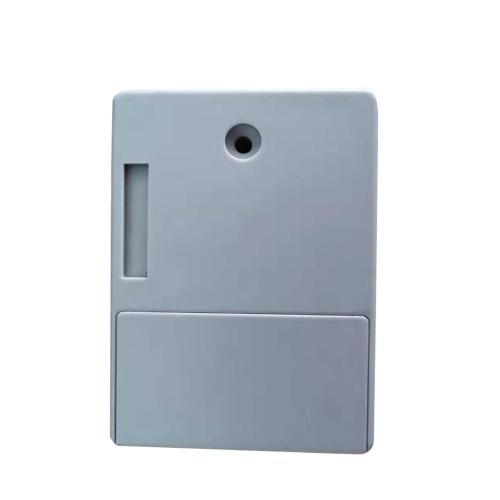 Smart Sensor Cabinet Lock Adhesive Hidden Drawer Lock Shoe Cabinet Wardrobe Bathroom Inductive Digital Lock for Single-opening Door Grey T3