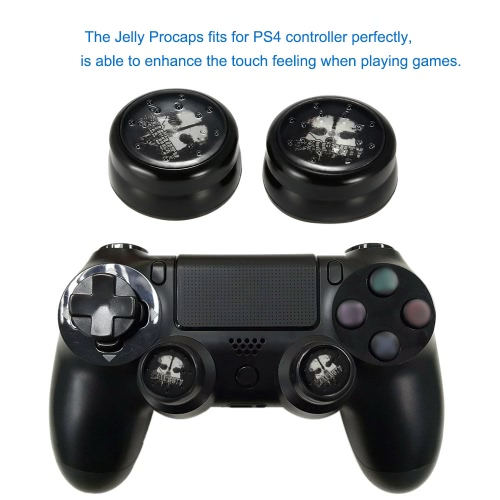 PS4 コント ローラー パッドの保護ゼリー投影アナログ スティック グリップ滑り止めカバー