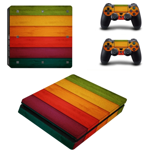 PS4 Slim Game Machine Accessories Stickers PVC Material with Breathable No Air Bubbles